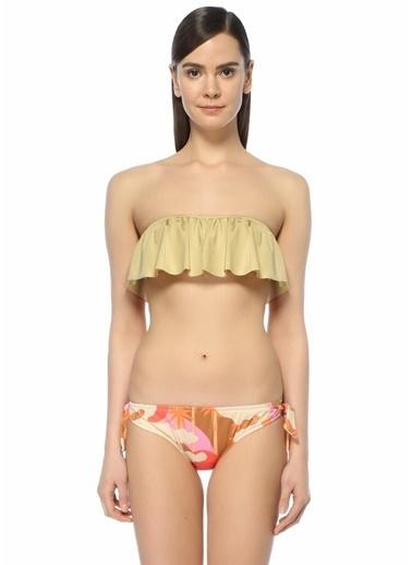 Love Bikini Üst Bej